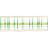 Karo-Band 40 mm mit Drahtkante