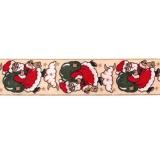 Weihnachts-Band Nikolaus 40 mm breit
